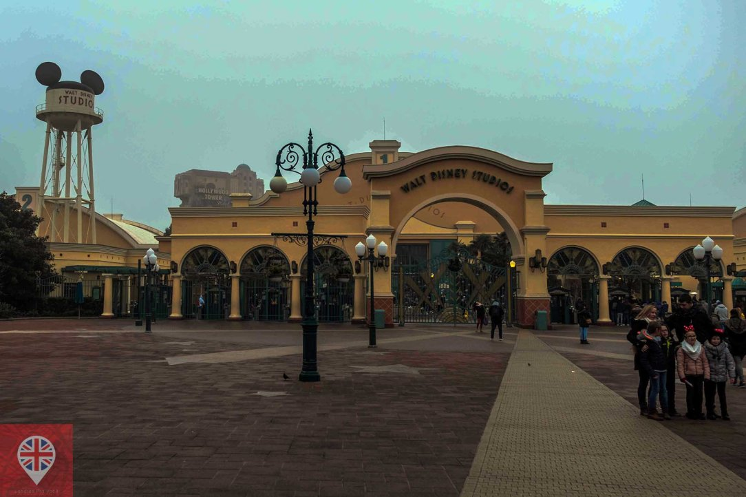 Disneyland Paris Studio entrance