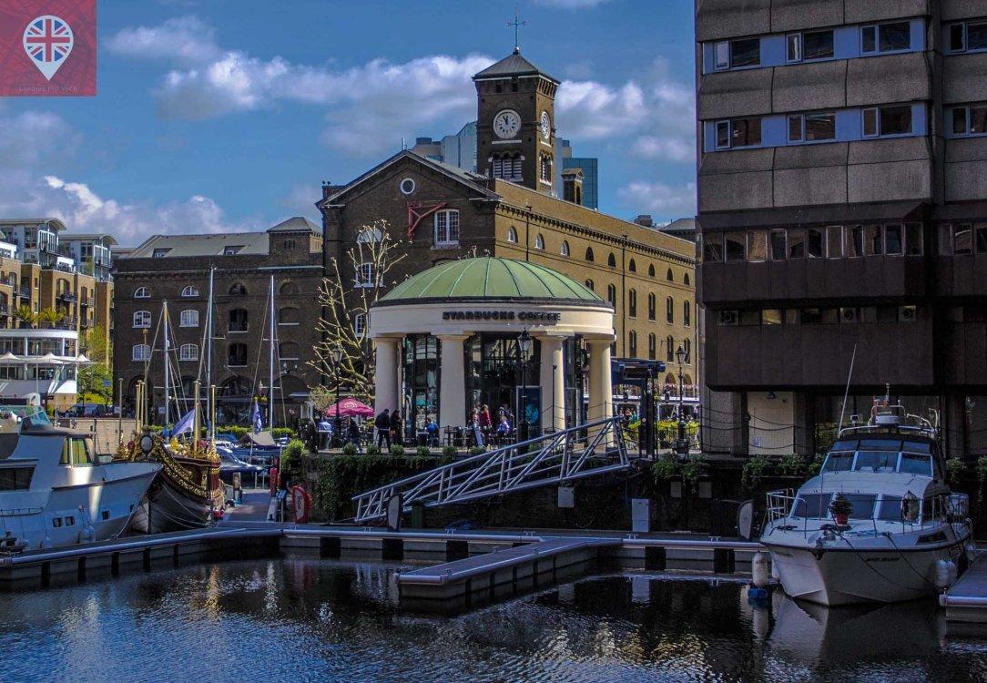 St Katharine docks starbucks