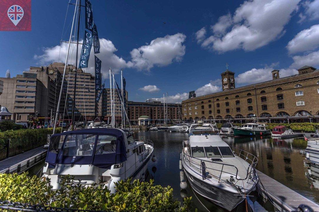 St Katharine docks wide