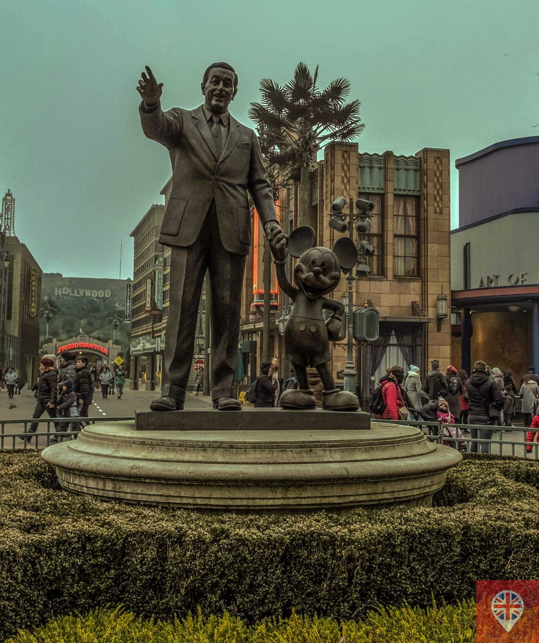 Walt Disney and Mickey