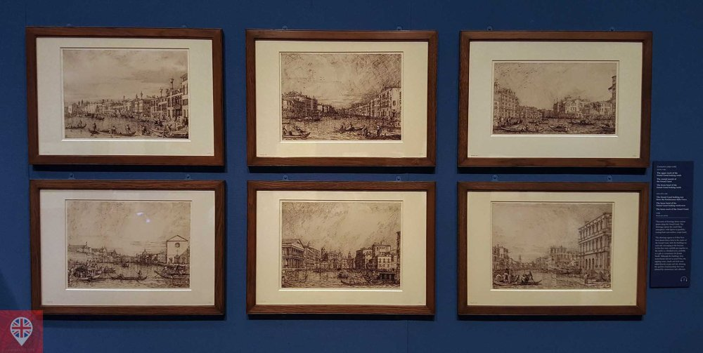 Canaletto drawings