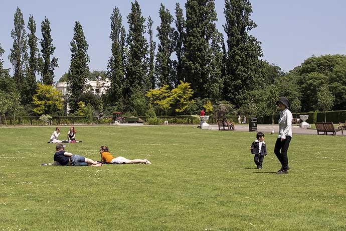 Regents Park gramado