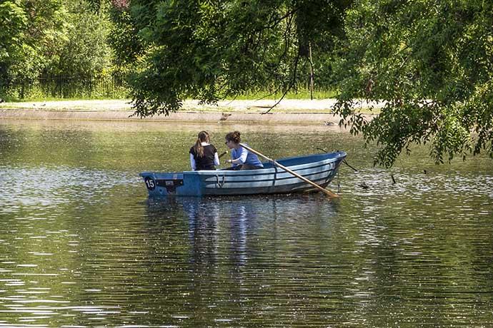 Regents Park lago