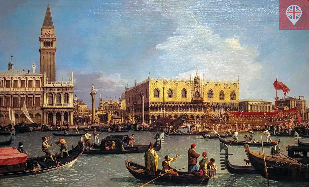 The Bacino di San Marco on Ascension Day detalhe