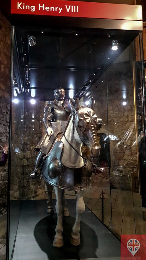 Tower of London armour Henry VIII