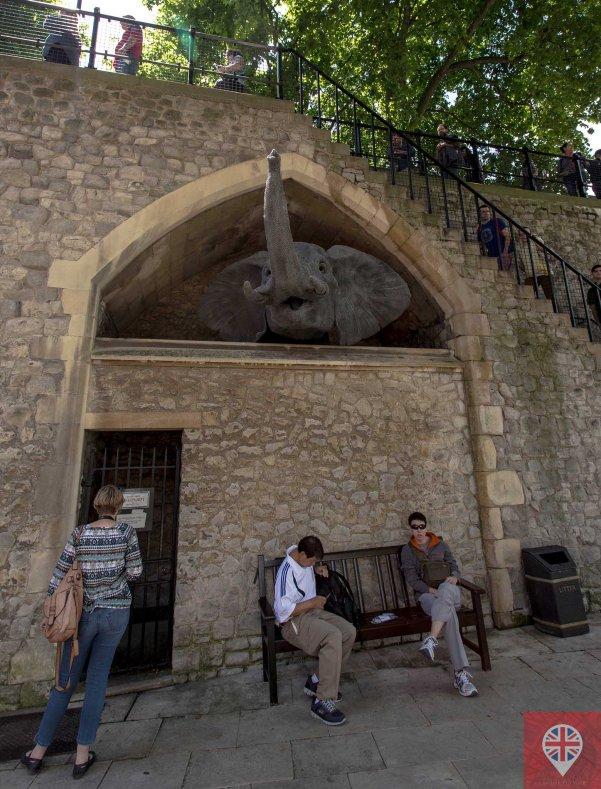 Tower of London elephant