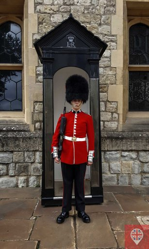 Tower of London queens guard
