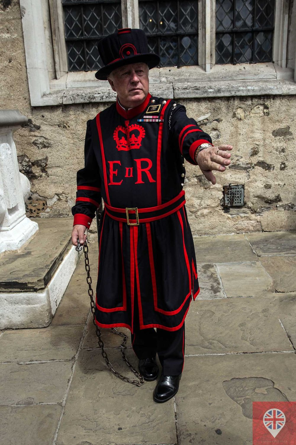 Tower of London warder