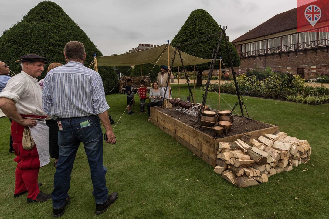 hampton court tudor party bbq