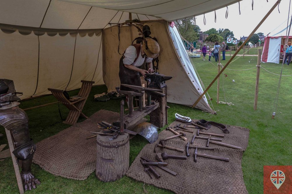hampton court tudor party blacksmith