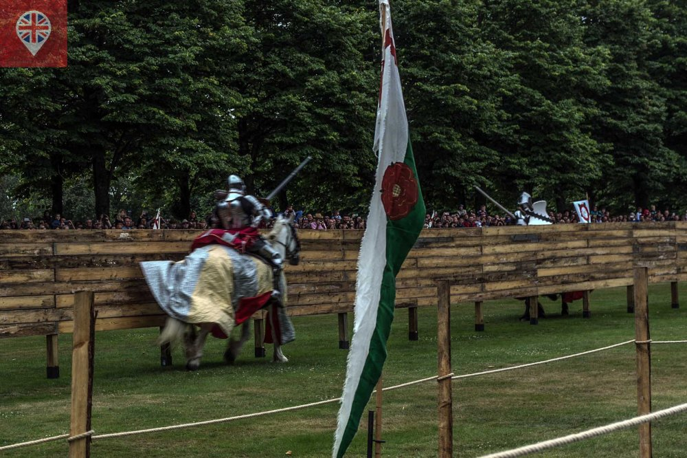 hampton court tudor party joust