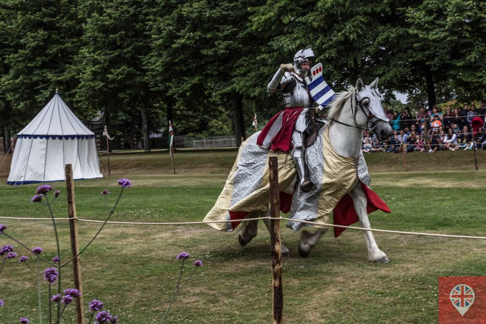 hampton court tudor party knight