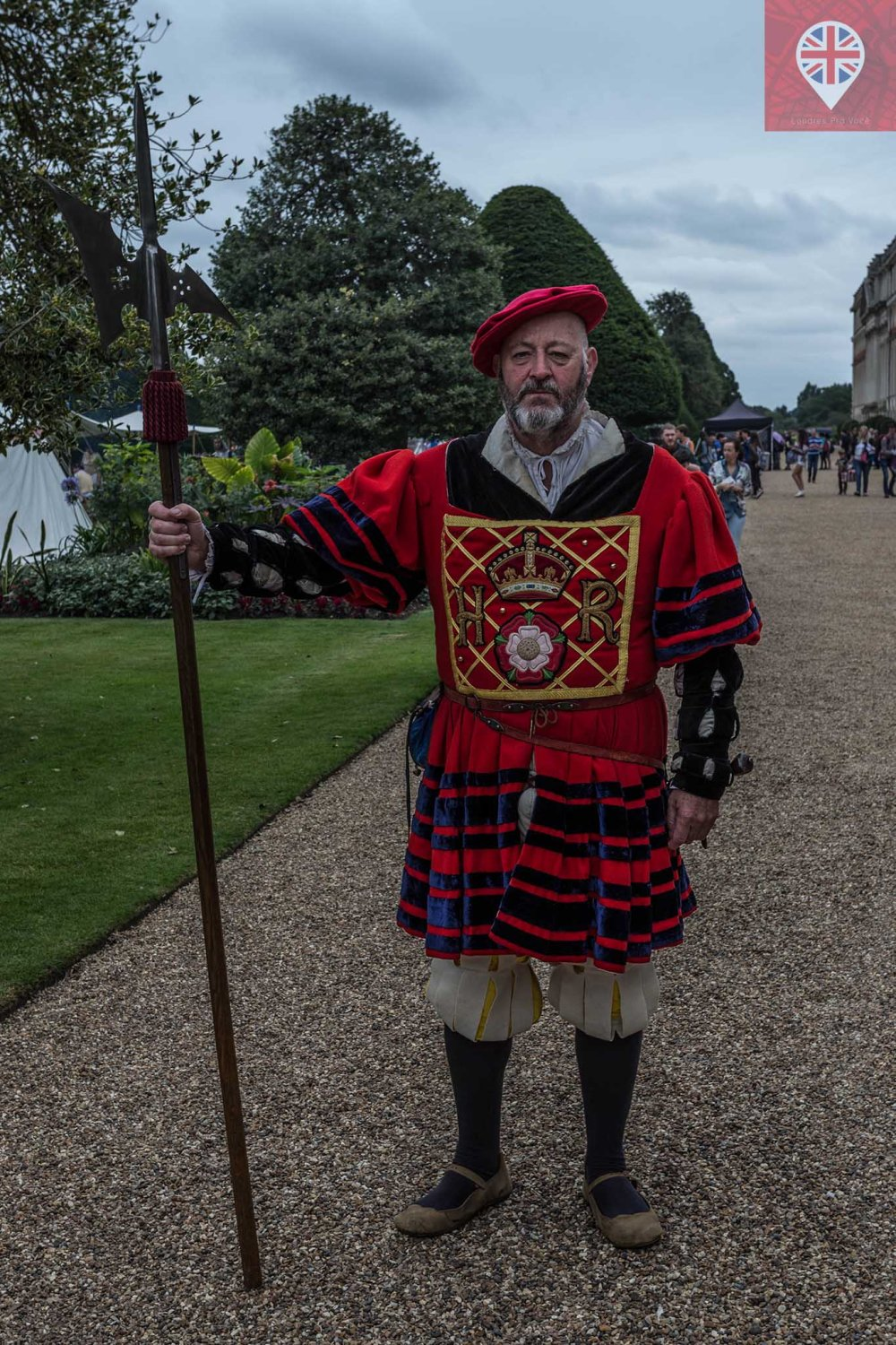 hampton court tudor party warden