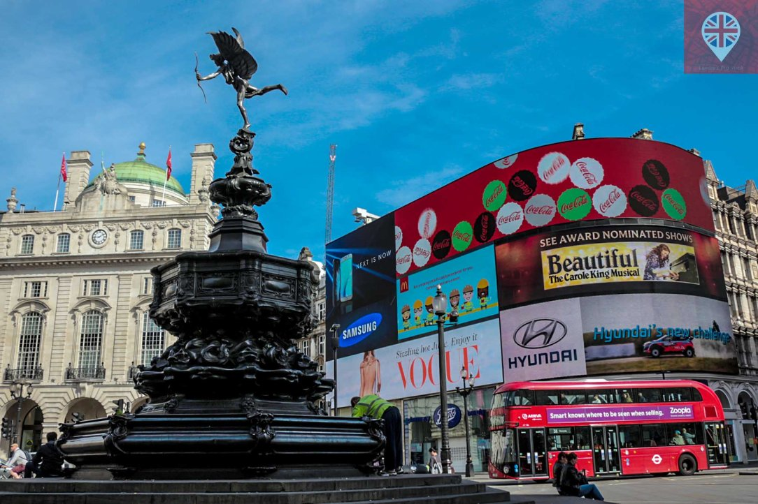 Piccadilly Circus Eros