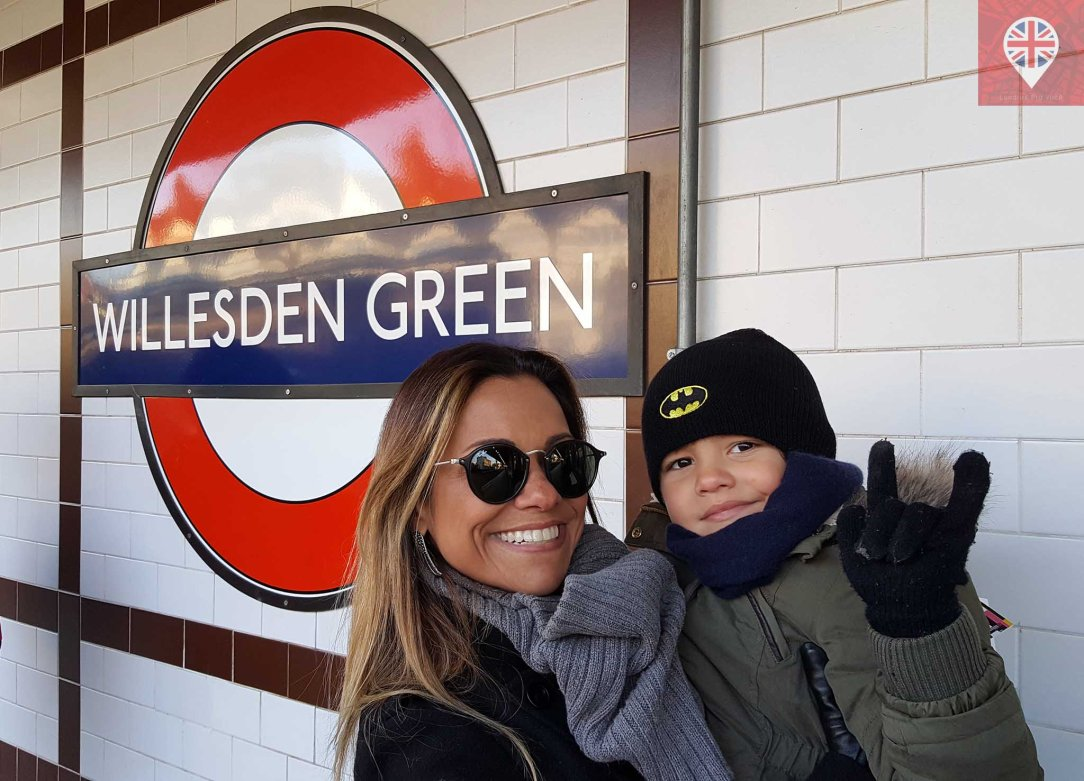 Willesden Green Dani e JG
