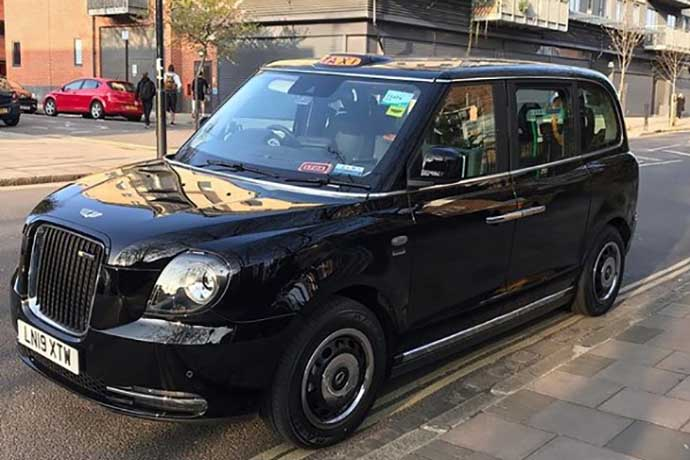 black cab electric carlos