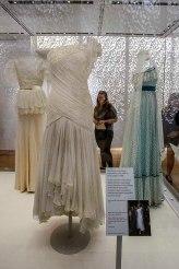 Gina Fratini - Diana usou esse vestido em uma apresentação de ballet no Rio de Janeiro em 1991
