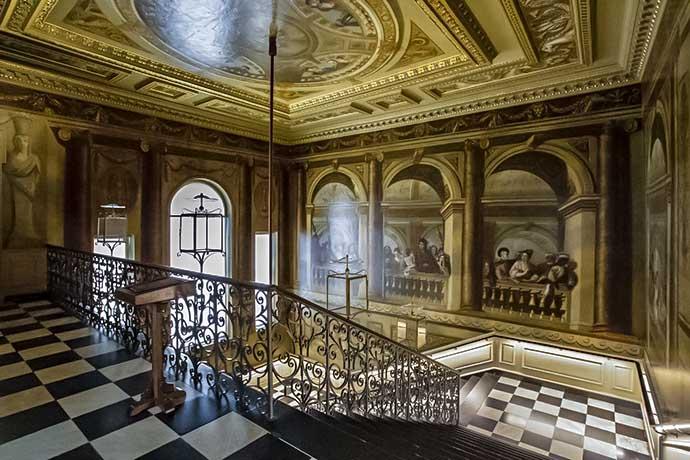 King's Staricase – a escadaria que leva para o King's Apartments.