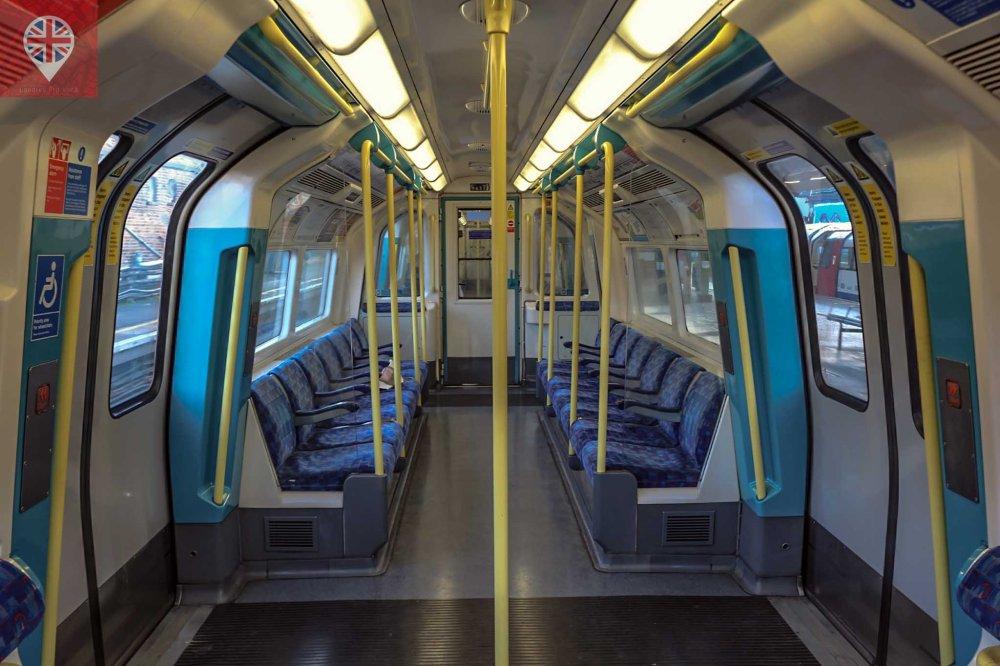 metro vazio