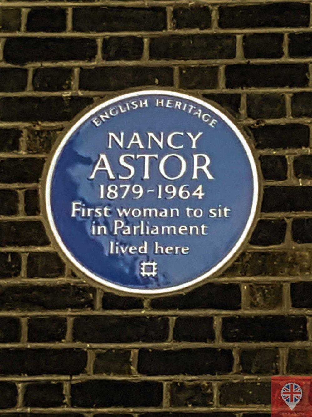 mulheres incriveis blue plaque