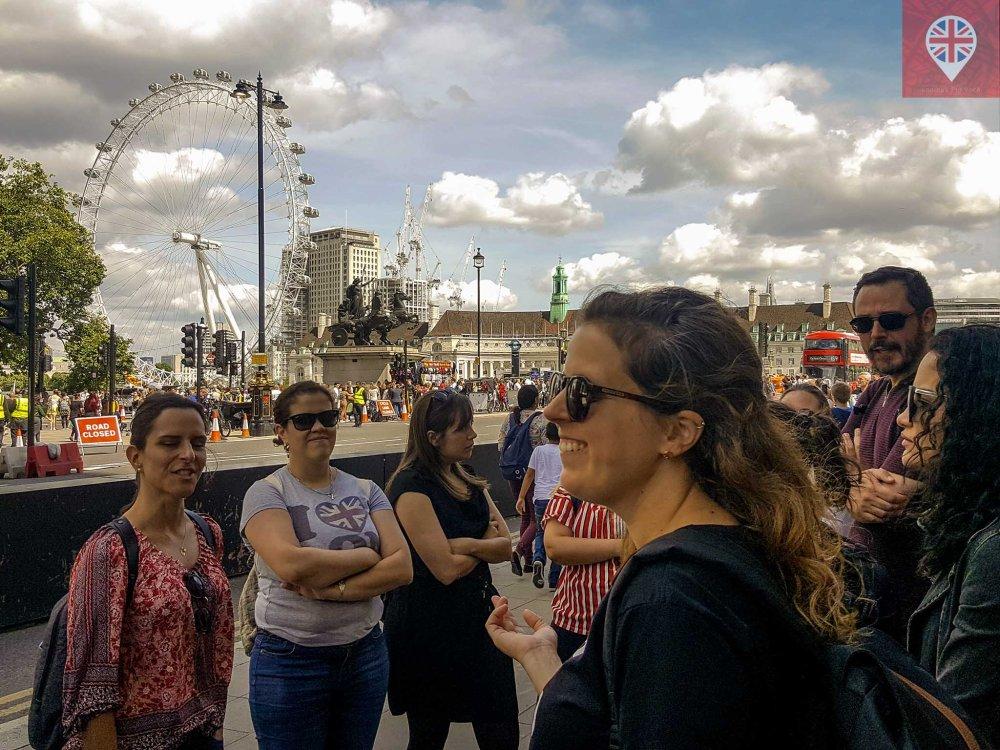 mulheres incriveis london eye