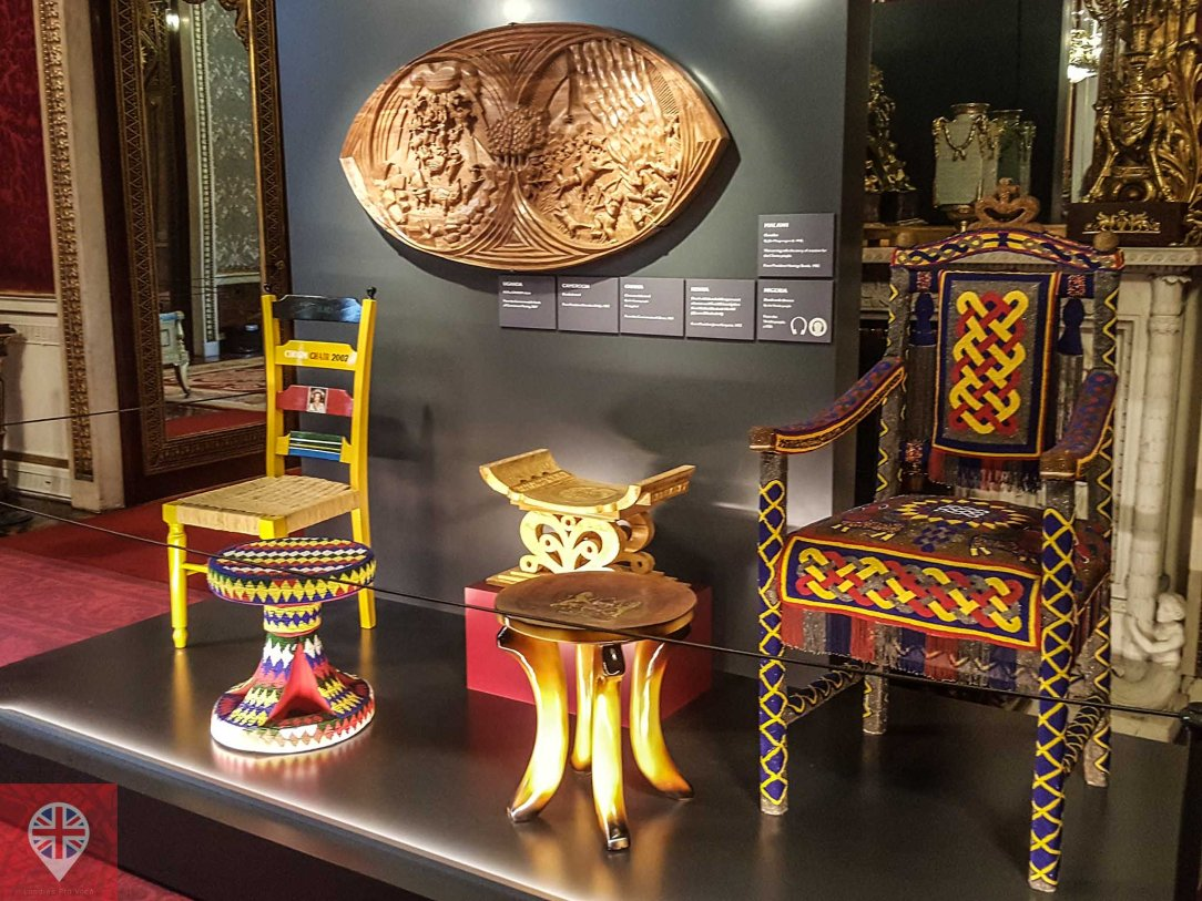 Royal Gifts african throne