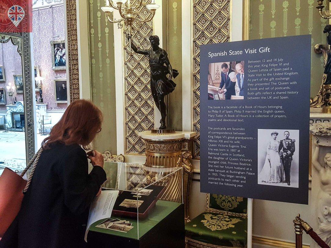 Royal Gifts spanish visit