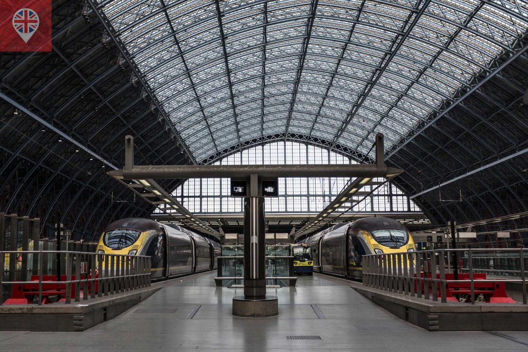 St pancras station eurostar
