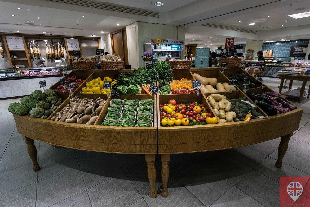 Fortnum Mason fruits and vegetables