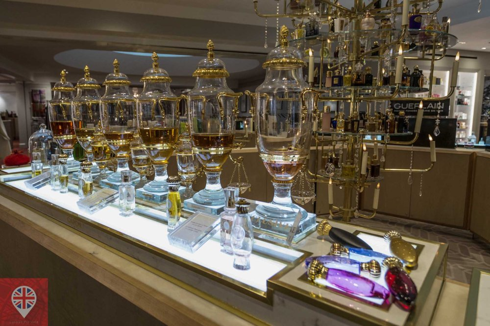 Fortnum Mason perfumes close