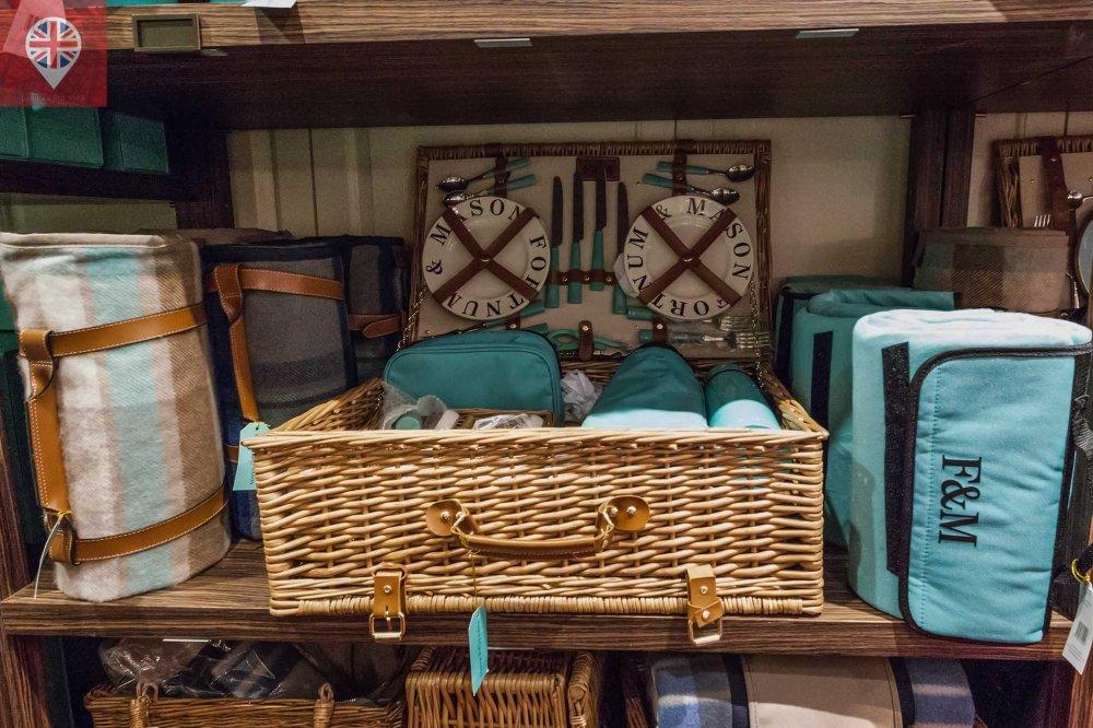 Fortnum Mason picnic basket