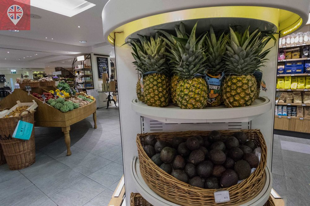 Fortnum Mason pineapples
