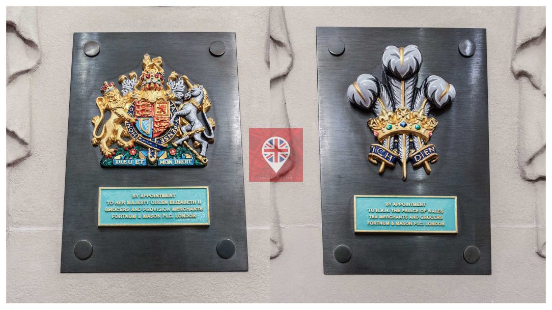 Fortnum Mason Royal Warrants