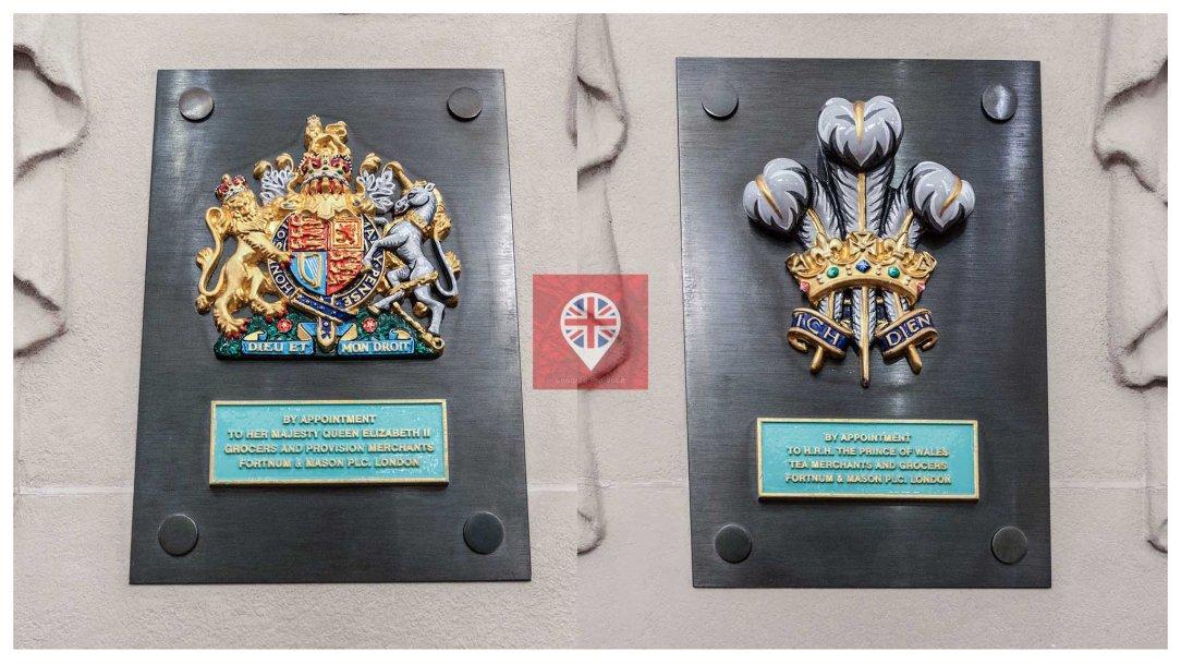 Fortnum Mason Royal Warrants