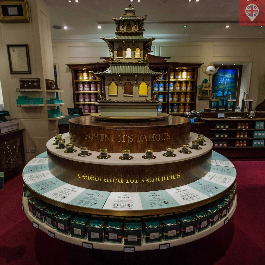 Fortnum Mason tea counter