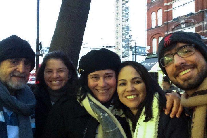 Fabiana e familia