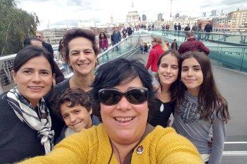 Maria Cristina e turma