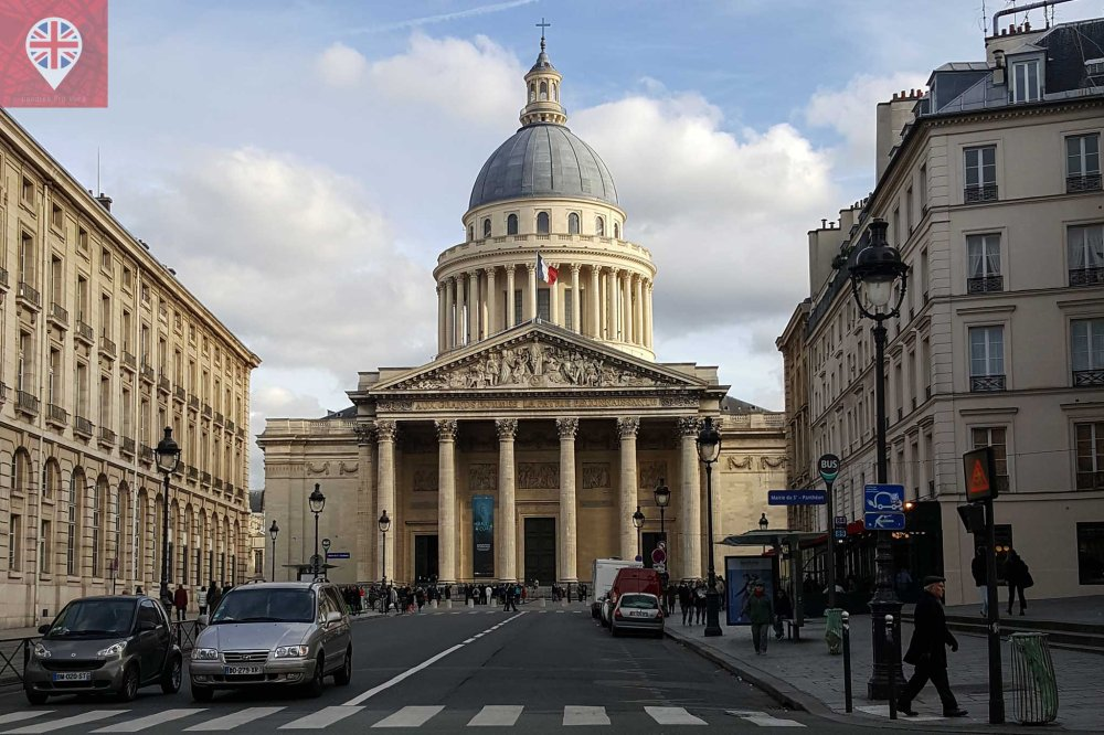 paris pantheon exterior