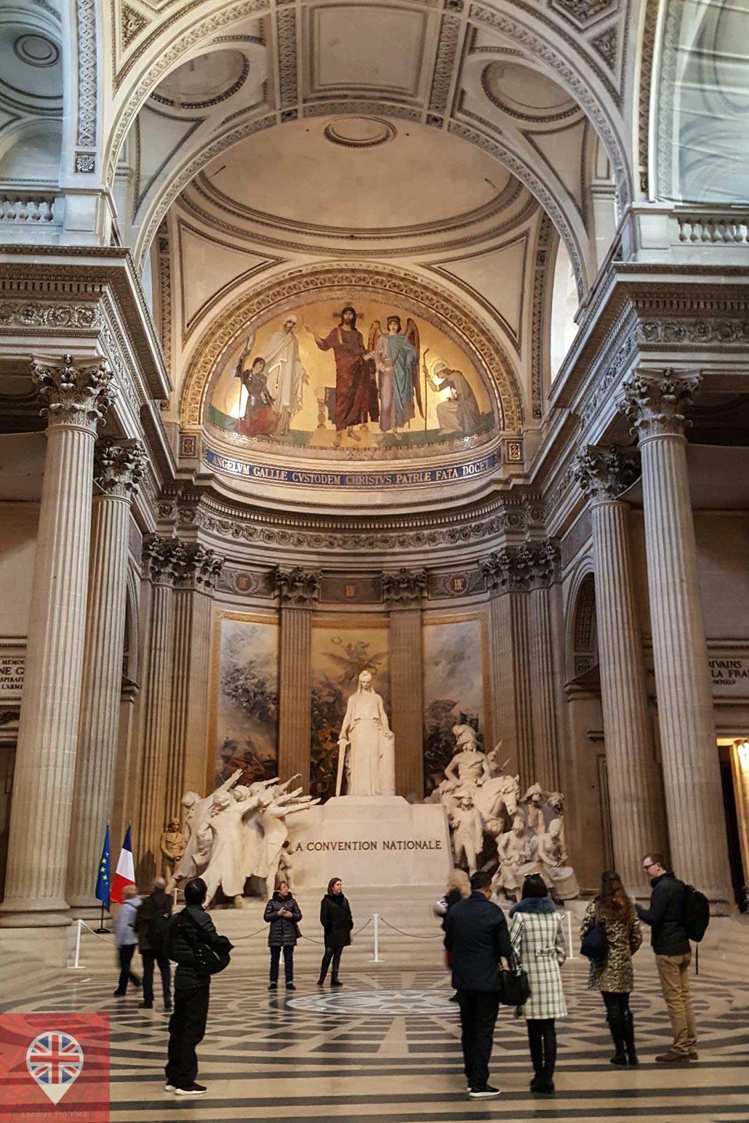 paris pantheon interior