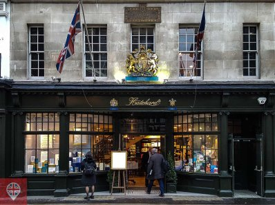 Hatchards entrance