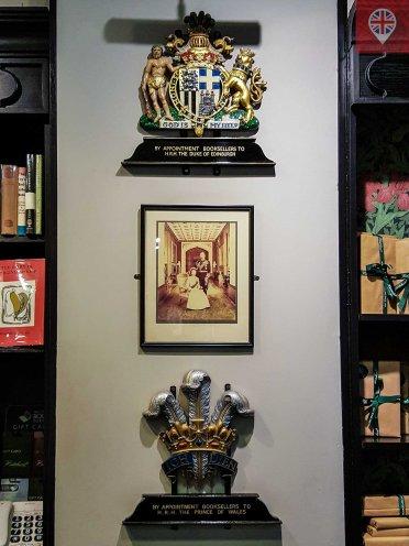 Hatchards royal warranty duke prince