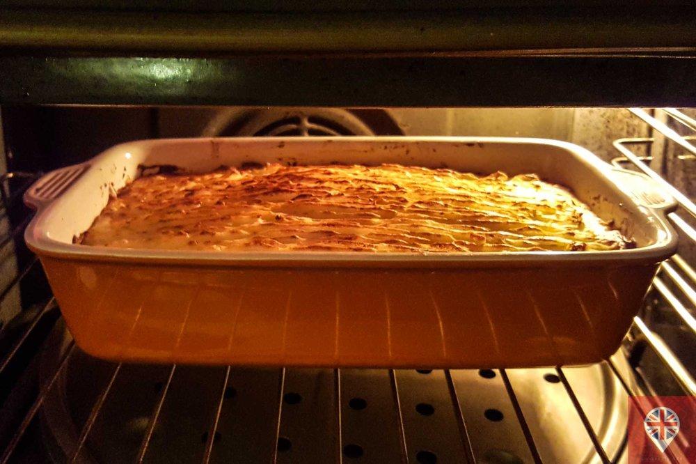 shepherds pie oven