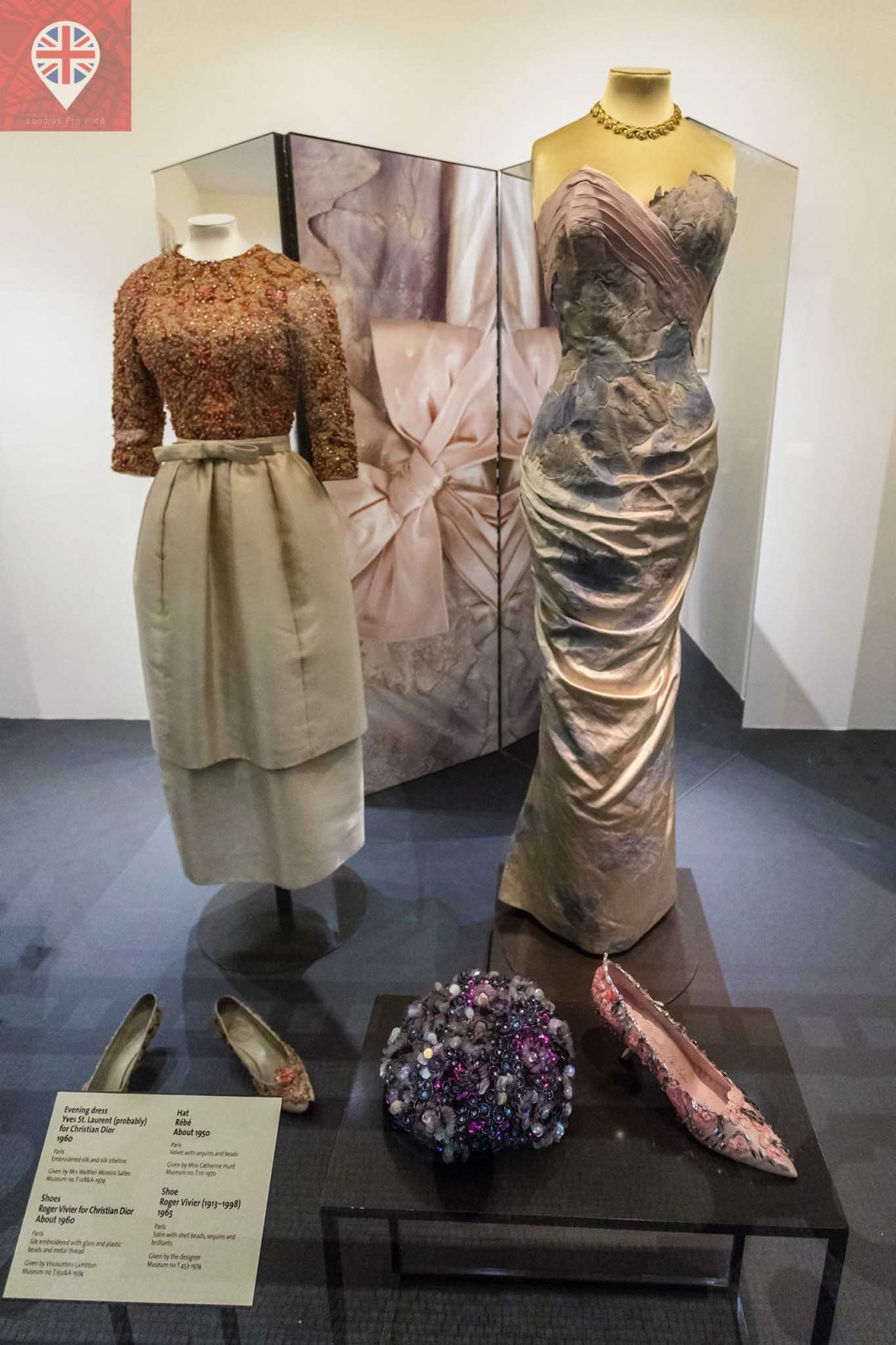 V&A fashion anos 50-60