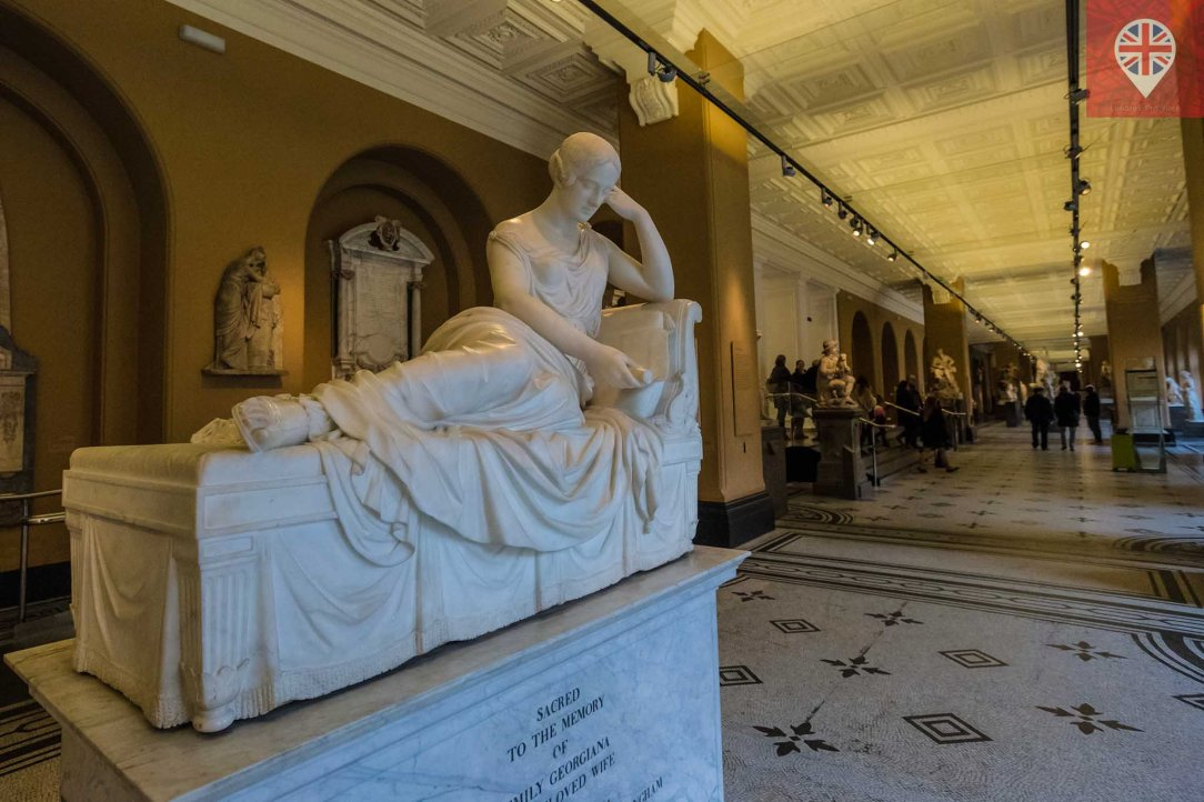 V&A Monument to Emily Georgiana Lady Winchilsea