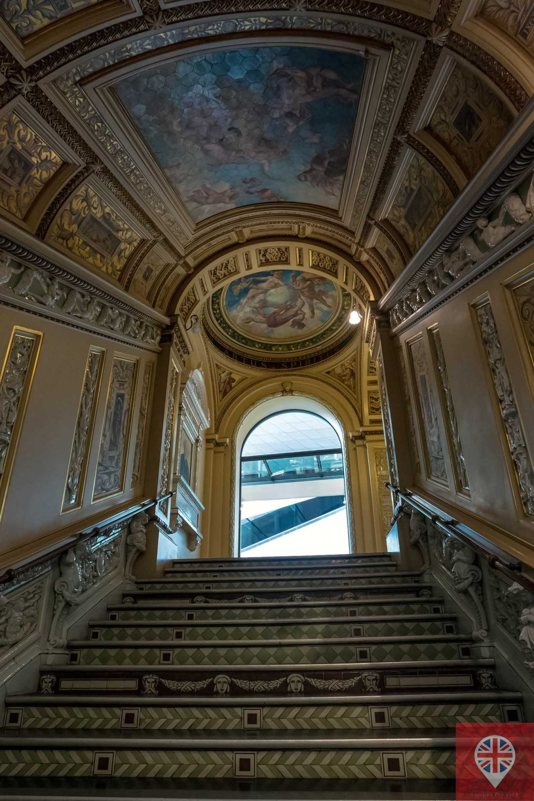 V&A the ceramic staircase