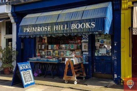 primrose hill bookshop entrance