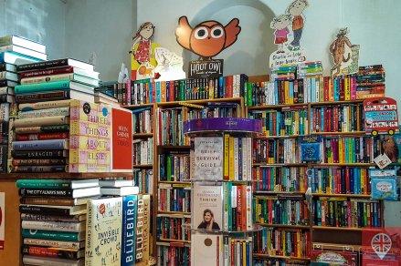 primrose hill bookshop shelves