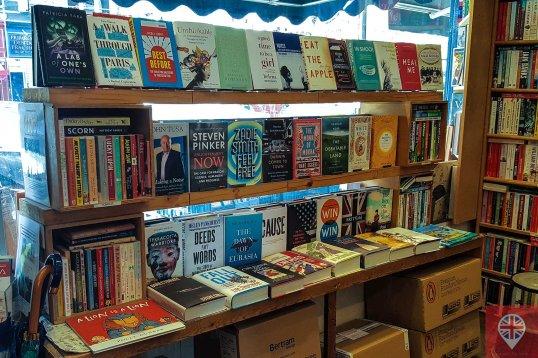 primrose hill bookshop window