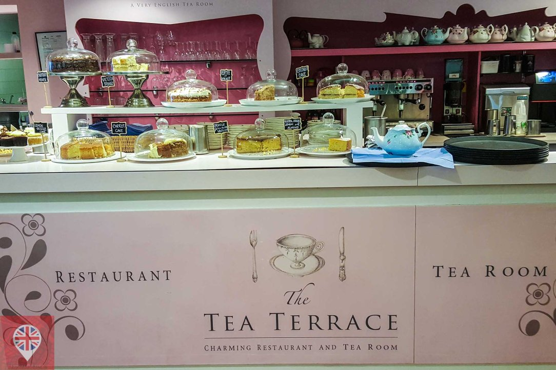 the tea terrace cakes