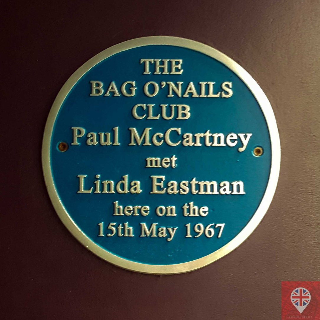 tour beatles paul linda plaque